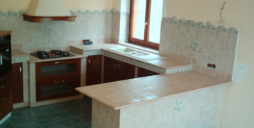 Cucina in muratura Scavolini e Mobili Marasca – Mobili Marasca